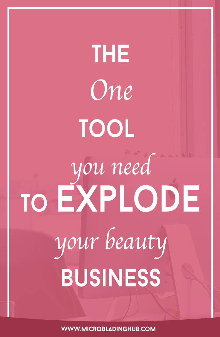 "The tool to end all tools. This ONE service will help you take your beauty business from ""just getting by"" to ""booking is overloaded."""