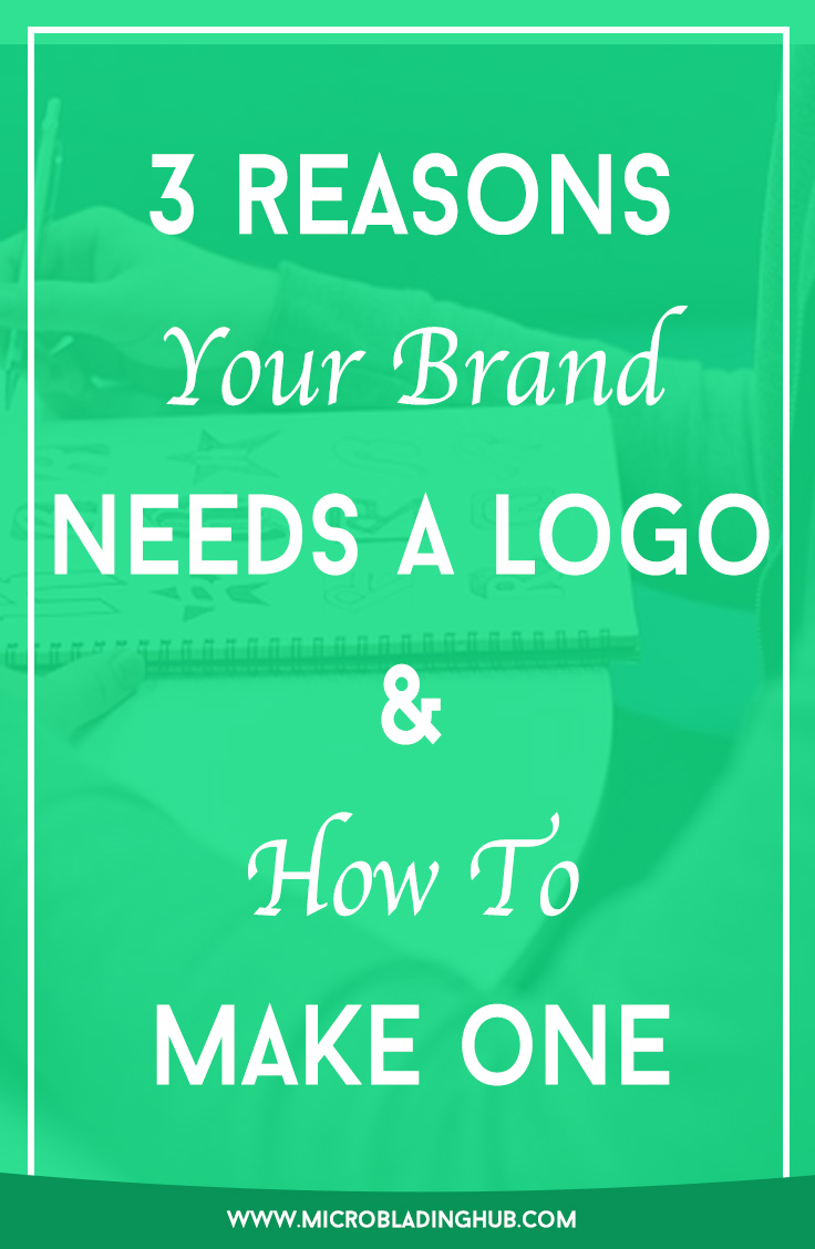 In case you're on the fence on whether you should get a logo, here are 5 reasons you should and how to make one.